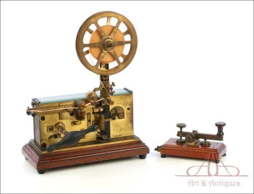 Antique Italian Telegraph-Morse Station. Italy, Circa 1900