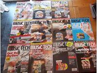 Music Tech Magazine 11 Issue Bundle - 2003/2004
