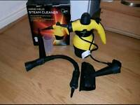 Steam cleaner with accessories