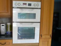 AEG Electric Double Oven and Gas Hob