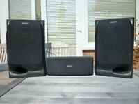 Sony 3 way SS H801 speakers