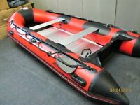 New 4.2metre inflatable boat dinghy rib tender dingy