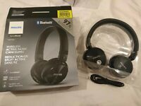 Philips Wireless Noise-Cancelling Bluetooth Headphones (SHB8750NC)