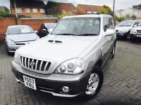 Hyundai Terracan 4x4 ready to drive but a small issue with heater matrix 1 owner car from new silver