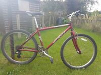 Specialized HardRock Sport Bicycle For Sale - 24 speed - 17 inch frame