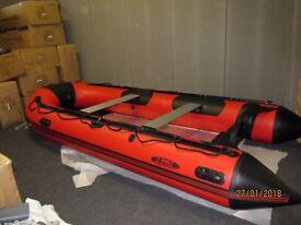 4.2 inflatable boat dinghy tender rib aluminium deck v keel dive fishing like honwave avon zodiac