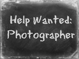 Part-time Photographer. Type -Social Photography. Perfect for Students!