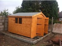 10x10 apex shed 13mm waterbased shiplap