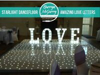 Wedding DJ & Starlight Dancefloor Package ONLY £595