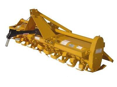 Rotary Tiller 7 Ft - Gear Driven - 65 Hp - 540 Rpm - 8 Till Depth - Commercial