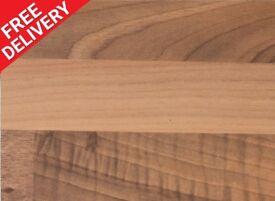 3000 x 600 x 30mm Blocked Oak Matt Kitchen Worktop - BRAND NEW