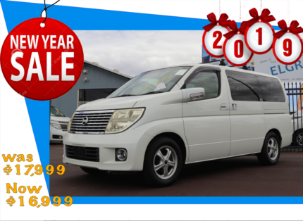 Nissan Elgrand, 8 Seater, 4WD, MPV, People Mover Kenwick Gosnells Area Preview