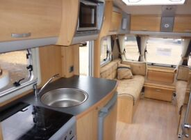 Sterling Eccles Jade 2007 4 berth with 2 fixed beds and mover.