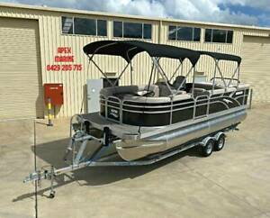 2020 SEEKER 22C LUXURY SPORT / CRUISE PONTOON Moss Vale Bowral Area Preview