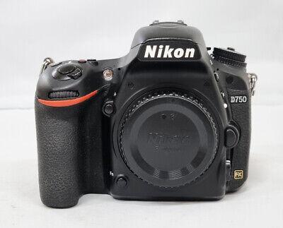 """# Nikon D750 Digital SLR Camera Full Frame 24.3MP No WiFi """"82K """"S/N 2092"""