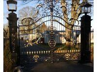 Stunning Electric Gates