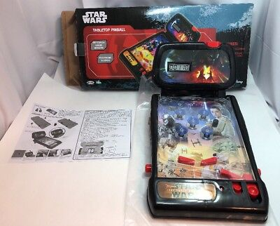 STAR WARS Tabletop Pinball On Screen Sound Effects Electronic Scoring