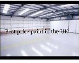 Heavy duty floor paint