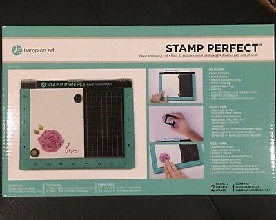 Brand New Hampton Art STAMP PERFECT Stamp Positioning Tool