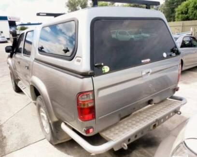 TOYOTA HILUX SR SR5 DUAL CAB ARB CANOPY + HD RACKS SILVER 1E4