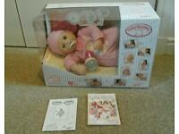 BABY ANNABELL DOLL IN THE BOX WITH FULL INSTRUCTIONS -NEVER PLAYED WITH!!