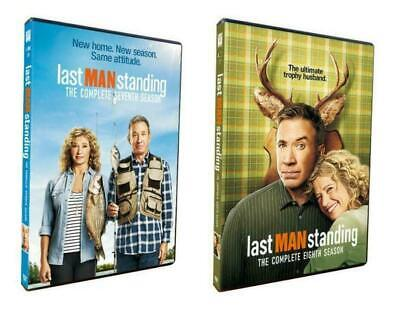 Last Man Standing Season 7 & 8 (DVD, 6-Disc) New & Sealed Free Shipping US SELL