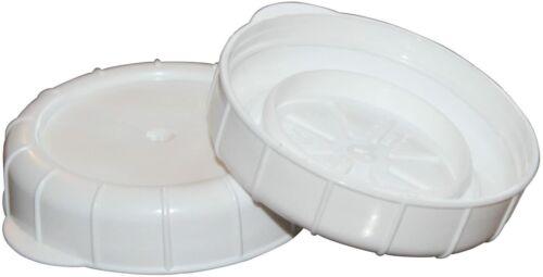 Glass Milk Bottle Caps Snap On Lids 12 Pack Kitchen Decorative Accessories New