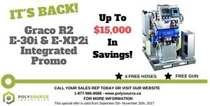 BRAND NEW SPRAY FOAM RIG / TRAILER AT A HUGE SAVINGS!