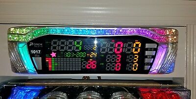 BATTLE COUNTER Pachinko Machine Japanese Slot Arcade Game DATA LED DELUXE