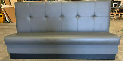 High Quality Restaurant Wall Bench Tufted Back 42 High Back Custom Bulit Sizes