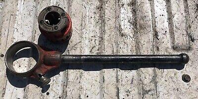 Ridgid 1 Pipe 12-r Hand Ratchet Threader D-286