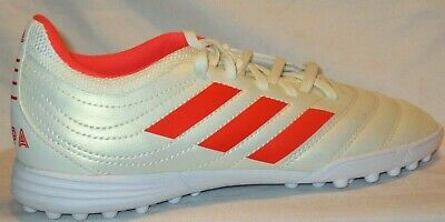 d22e8cfb3 KID'S ADIDAS COPA 19.3 TF OFF WHITE/SOLAR INDOOR SOCCER SHOES SIZE 5