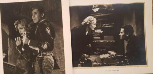 "1938 Henry Fonda & Madeleine Carroll photos ""Blockade"" by Donald B. Keyes"