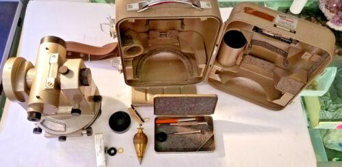 Vintage Nikon H-5 Theodolite Transit Engineer