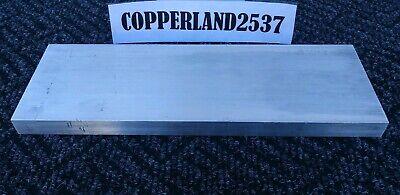 .5 X 4 X 12 Long New 6061 T6511 Solid Aluminum Plate Flat Bar Stock Block 12