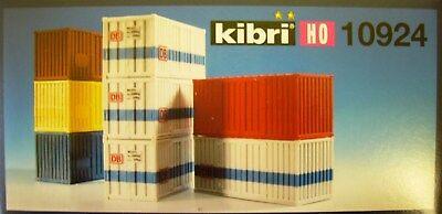 Kibri 10924 -- 20-Fuss-Container, 8 Stück, Spur H0