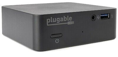Plugable USB-C Mini Docking Station with 85W Charging for Windows 10 or Macbook