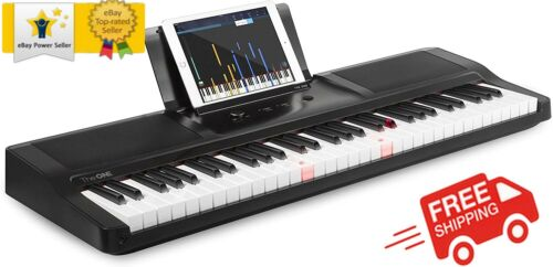 ✨ The ONE Smart Piano Keyboard with Lighted Keys, Electric Piano 61 keys, Home ✨