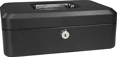 Barska Cb11830 Small Cash Box With Key Lock