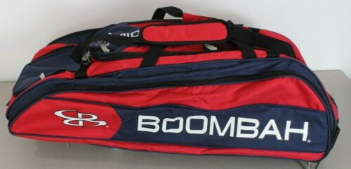 Boombah Beast 2.0 Superpack Rolling Navy Red Baseball Softball