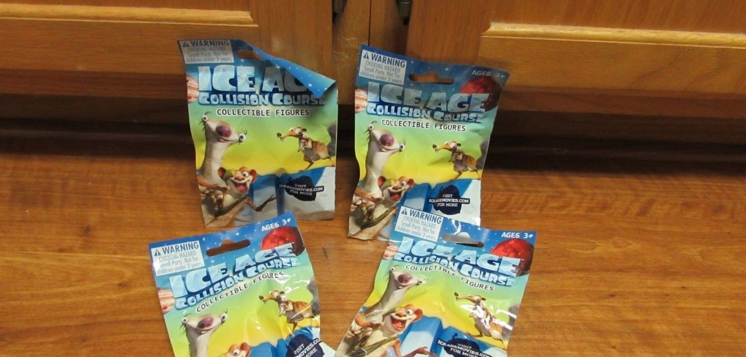4 blind bags ice age collision course