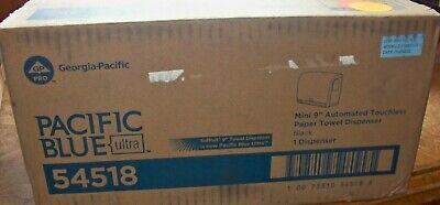 "Pacific Blue Ultra 9"" Mini Automatic Paper Towel Dispenser"