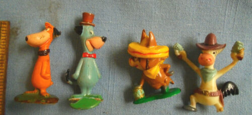 Vintage Marx Tinykins Huckleberry Hound Hanna Barbera Toy Figures