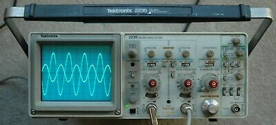 Tektronix 2235 100mhz Two Channel Oscilloscope Calibrated 2 Probes Sn B033788