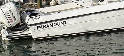 Paramount Boat Decal Stickers Decal Sticker Small Set