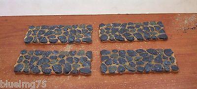 Dept 56 Slate Stone Path Straight  Set Of 4   52719 Nib  Y328