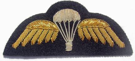 Genuine Australian Army Gold Bullion Parachute Wing Nowra Nowra-Bomaderry Preview