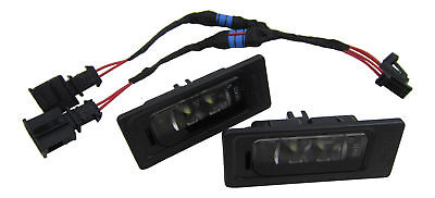 Genuine VW Audi LED License Plate Light+Canbus Connection Cable #3A