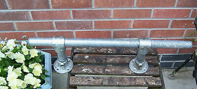 Reclaimed galvanised handrail 26