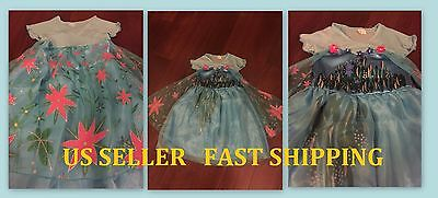 BRAND NEW FROZEN FEVER QUEEN ELSA BIRTHDAY PARTY DRESS US SELLER - Queen Elsa Frozen Fever